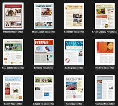 newsletter templates pages 4 pages indesign newsletter template