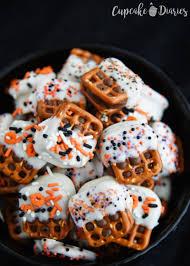 halloween dish towels halloween pretzel bites recipe pretzels and caramel