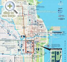 chicago map with attractions chicago maps top tourist attractions free printable city