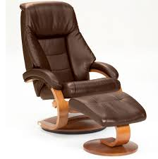 Swivel Recliner Mac Motion Oslo 58 Series Leather Swivel Recliner And Ottoman Set