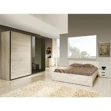 chambre 180x200 andes chambre 180x200 avec armoire 2 portes coulissantes 260cm