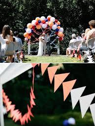 Backyard Weddings Ideas Diy Portland Backyard Wedding