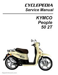 Kymco People 50 Scooter Printed Service Manual Ebay