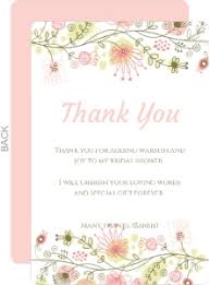 for bridal shower bridal shower thank you cards thank you cards for bridal shower