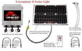 hog hunting lights for feeder exterminator ii feeder light night hunting depot