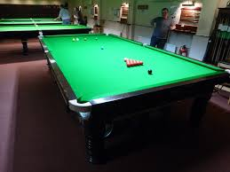 Local Nottinghamshire Club Have One Full Size Snooker Table And One