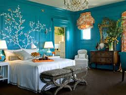 Bedroom  Blue Wall Paint Colors Blue Bedroom Interior Blue And - Calming bedroom color schemes