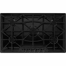 Kenmore Pro 36 Gas Drop In Cooktop Stainless Steel Gas Cooktops Kenmore Cooking