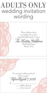 how to word wedding invitations wording for an only wedding wedding invitations by