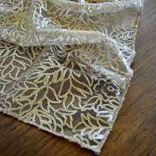 gold lace table runner chagne table runners for wedding ships in 1 3 business days