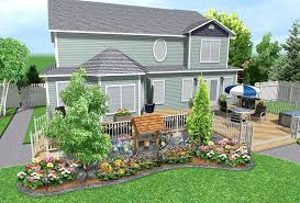 Free Online Landscaping Software by Free Landscape Design Software Online With Small Garden And Small