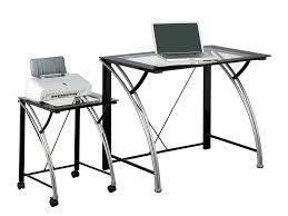 Glass L Shaped Computer Desk by Corner Gaming Computer Desk Throughout Z Line Belaire Glass Desk