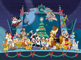 disneys cartoons christmas free desktop wallpapers for