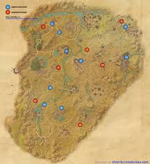 Elder Scrolls Map Reaper U0027s March Skyshards Map Elder Scrolls Online Guides