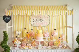 Candy Party Table Decorations Kara U0027s Party Ideas Shop Vintage Candy Shoppe Theme Love The