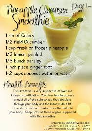 Young And Raw 30 Day Green Smoothie Challenge Recipes For November
