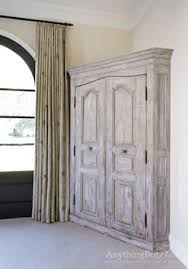 antiqued distressed furniture traditional bedroom houston