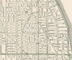 Chicago Map 1890 by Wiebking Hardinge U0026 Ludlow Pantographs
