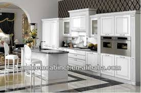 High Gloss Paint For Kitchen Cabinets European Style Modern Shaker Door High Gloss White Painting