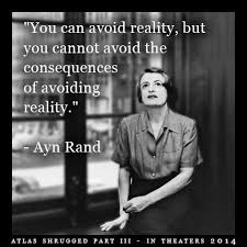 Ayn Rand Meme - objectivism causes brain damage eternal vigilance