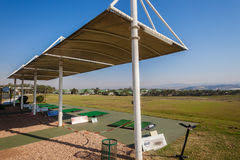 Awnings Durban Golf Practice Range Sun Protection Editorial Photography Image