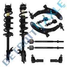 brand new 10pc complete front suspension kit for 2002 2006