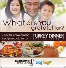turkey dinner giveaway