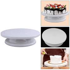 rotating cake stand 2018 lightweight new cake turn table cake stand rotating icing