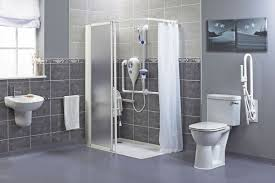 home interior bathroom disabled bathroom a50f in rustic home decorating ideas with disabled