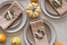 last minute easythanksgiving table settings cool eats