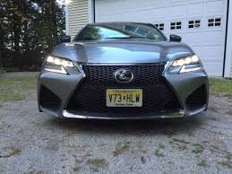 lexus gsf silver on the road review lexus gs f sports sedan the ellsworth