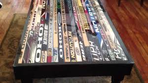 hockey stick coffee table youtube