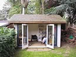 compact timber framed garden office kit garden room by neil office