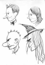 brett helquist drawing lesson how to draw a face in profile