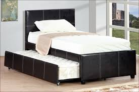 Espresso Twin Trundle Bed Bedroom Design Custom Espresso Trundle Beds Made Of Wood On