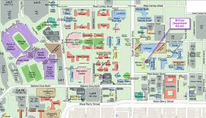 University Of Kentucky Campus Map Ub North Campus Map Map Of Wyoming With Cities