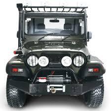 mahindra thar price buy mahindra thar crde front bumper with winch plate u0026 bull bar