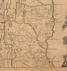Vermont County Map Sokwakik The Change Begins Whitelaw U0027s Map Of Vermont 1796