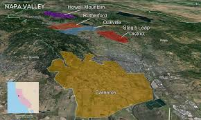 Map Of Napa Valley United States U2014 Tenzing
