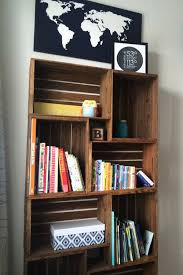 Crate Bookcase 20 Awesome Diy Bookshelf Ideas U2013 Diys To Do