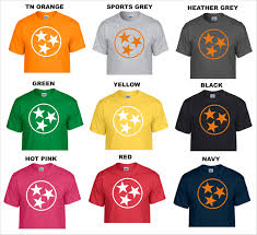 Tennessee Vols Home Decor University Of Tennessee Volunteers Vols Big Orange Tri Star T