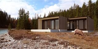 modern prefab cabin fantastic flat pack prefab cabins by form and forest inhabitat