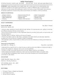 Dietary Aide Resume Samples by Home Health Aide Job Description Home Health Aide Online