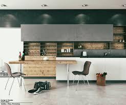 minimal kitchen by yones cgi renders 3d scenes pinterest
