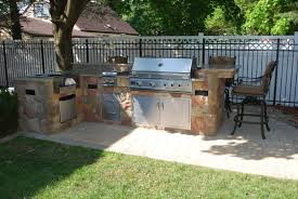 Backyard Grill Ideas by Outstanding Outdoor Kitchen Island Designs With Grill And Bar Bbq