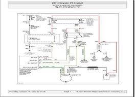 chrysler pt cruiser radio circuit and wiring schematic 100