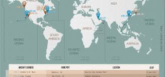 map us navy us carrier strike groups locations map april 14 2017