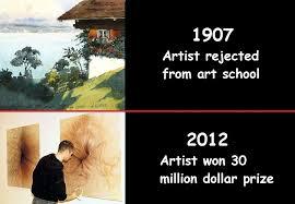 Modern Art Meme - hitler s art le modern art lewronggeneration