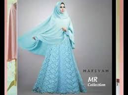 Baju Muslim Brokat model baju muslim brokat terbaru dan terkini untuk wanita gemuk