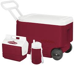 Igloo by Amazon Com Igloo 3 Piece Camping Combo Coolers Sports U0026 Outdoors